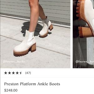 free people preston platform ankle boot